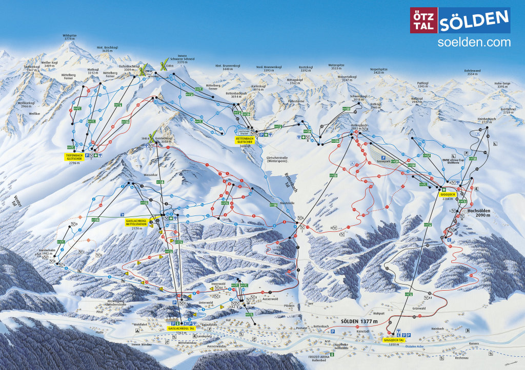 tabara-solden-ski-map-Himalaya Adventure