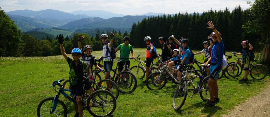 Tabara de bicicleta Borsec