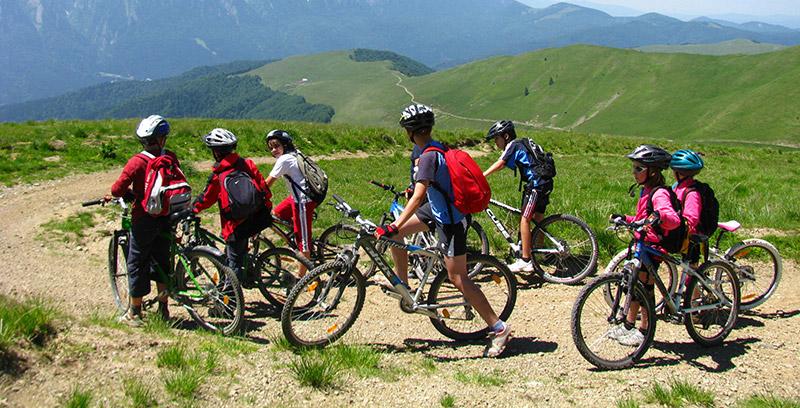 Excursii cu bicicleta pentru copii