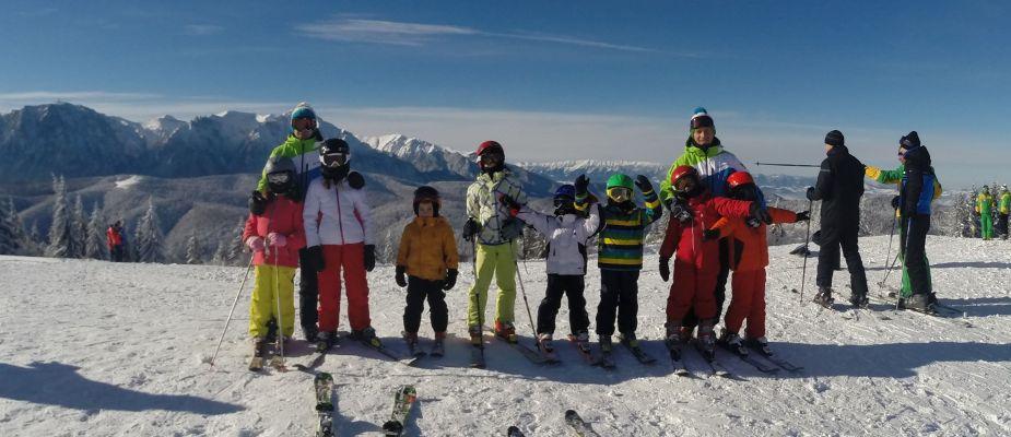 Tabara de schi Poiana Brasov